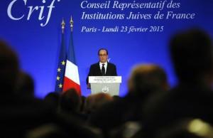"""François Hollande, le 23 février 2015 : """"de jeunes lycéens, Français de souche"""""""