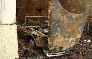 Un hangar qui abritait des voitures de collection a été incendié à Dampierre-sous-Bouhy dans la Nièvre