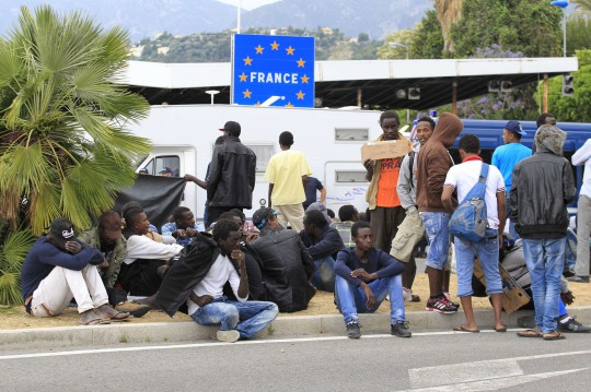 MIGRANTS-FRANCE-ITALY-EUROPE