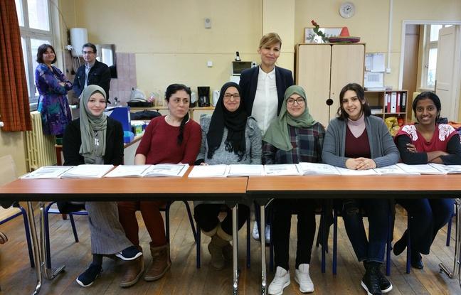 Strasbourg: Grâce au cours de français donné aux parents d'élèves, «je commence à avoir le courage de parler à la maîtresse»