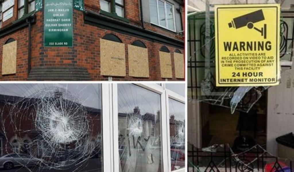 Birmingham : des fenêtres de 5 mosquées détruites, l'unité de lutte contre le terrorisme cherche l'auteur (MàJ: Arman Rezazadeh inculpé)