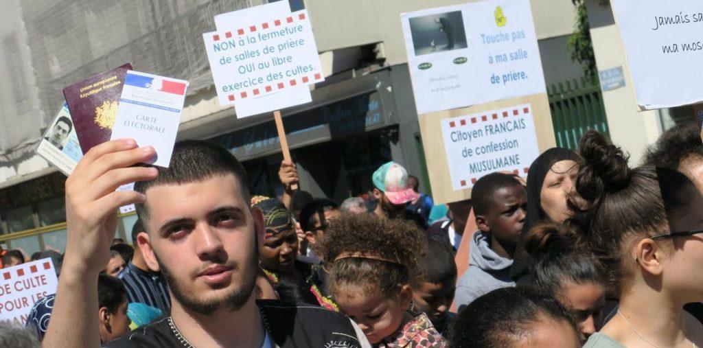 Gagny (93) : révoltés par leurs conditions de prière, les musulmans dans la rue