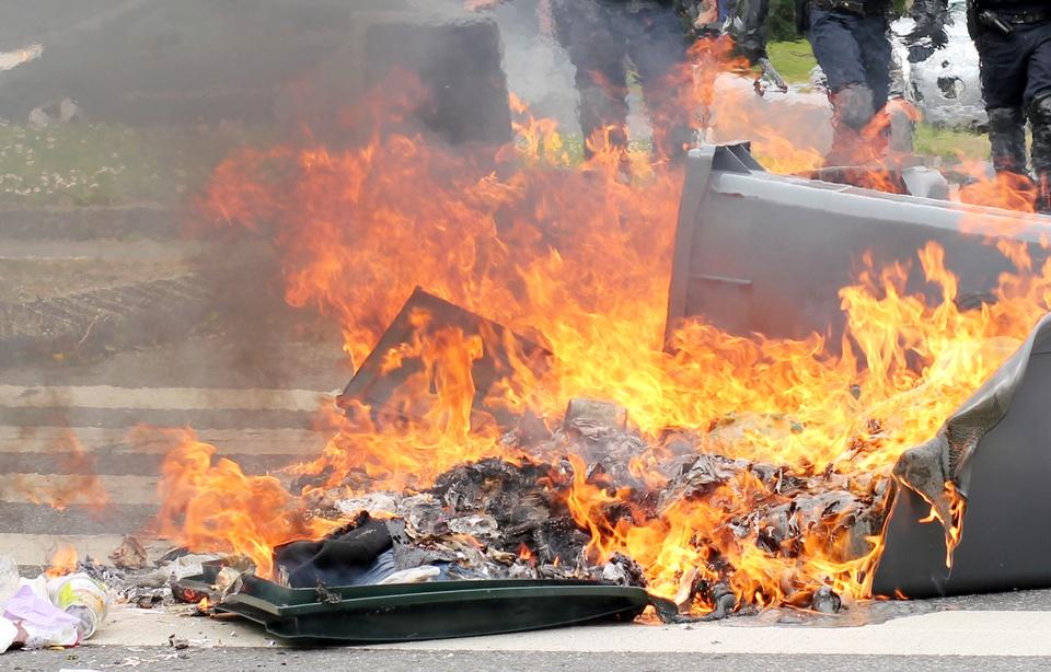 Strasbourg (67): violences urbaines, les pompiers pris pour cible