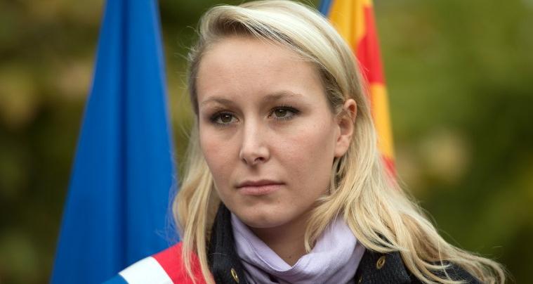 Marion Maréchal à la rencontre d'élus et de collaborateurs LR