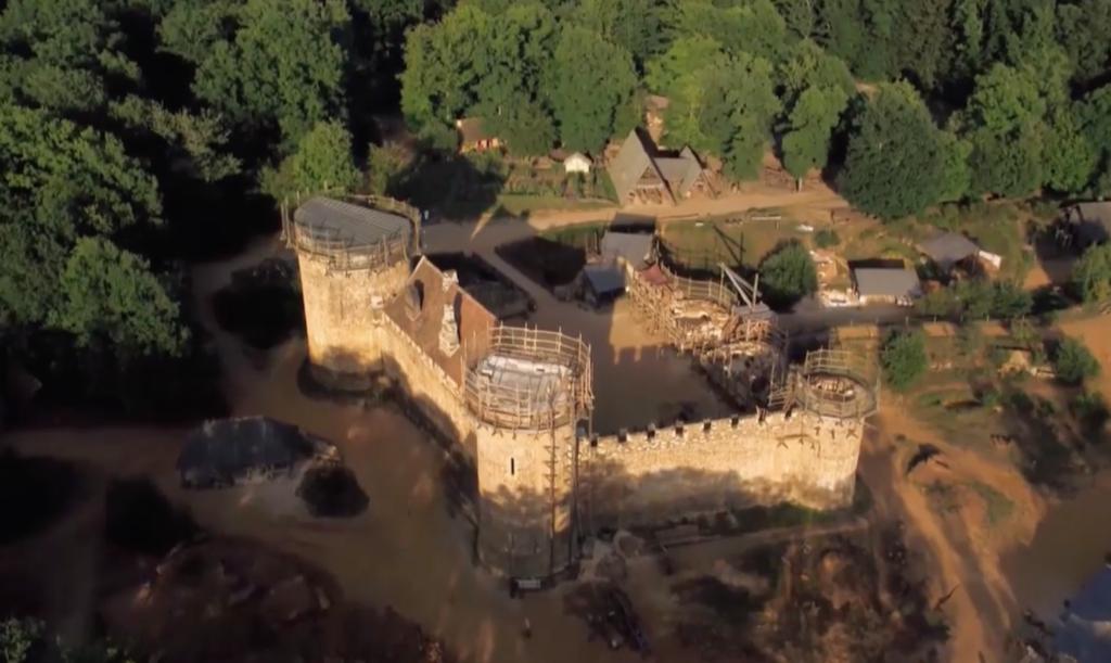 Guédelon : construire un château fort