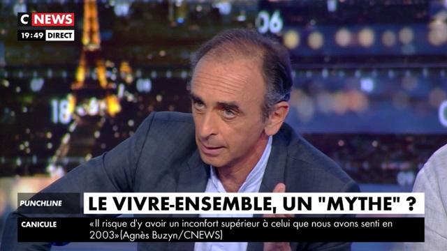 Éric Zemmour : «Avoir une carte d'identité, un papier français, ne veut pas dire être assimilé à la France» (MàJ : extraits)