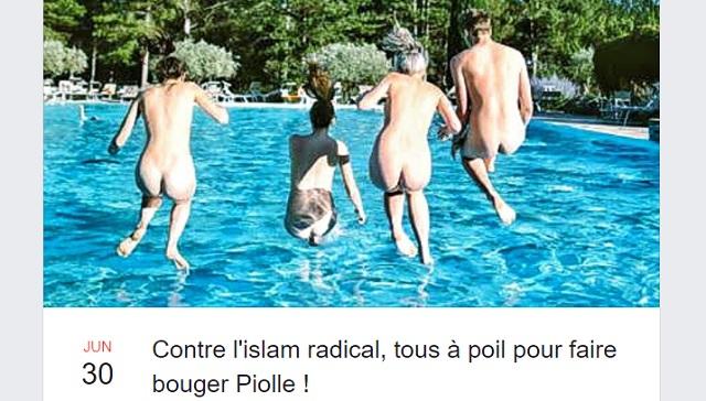 Grenoble : Opération burkini dans une piscine publique (MàJ : un groupe appelle à se baigner nu dimanche prochain)