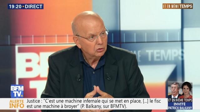 Patrick Buisson : « Nous sommes dans un climat d'antagonismes de classe qui frise la guerre civile »