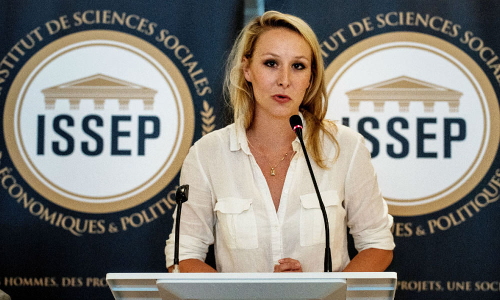 Marion Maréchal : «Je ne veux pas que la France devienne le Kosovo»