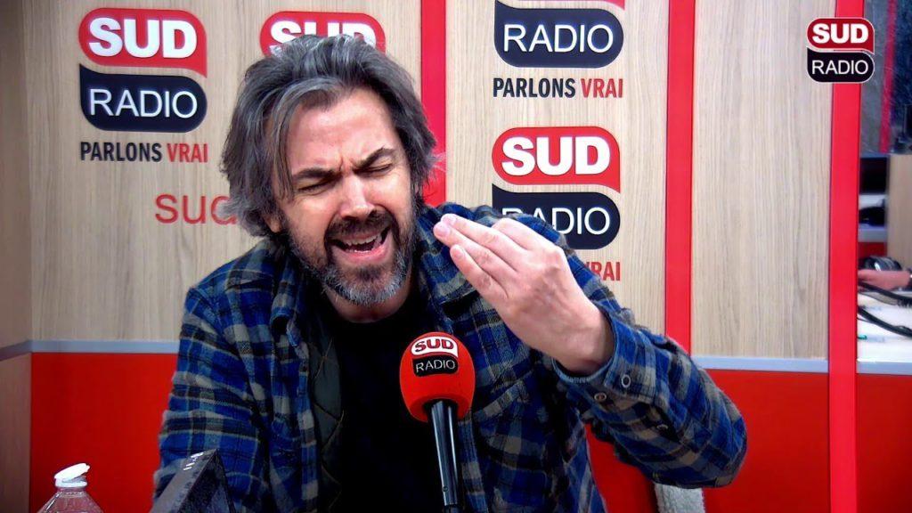 Aymeric Caron quitte le plateau de Sud Radio parce que la station a donné la parole à un auditeur climatosceptique