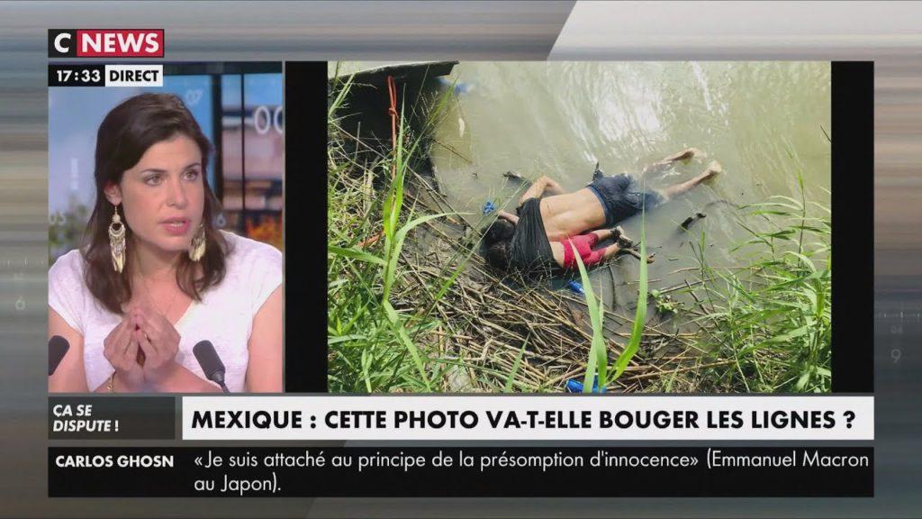 Charlotte d'Ornellas dénonce l'instrumentalisation de la photo des noyés du Rio Grande pour contester la politique migratoire de Trump comme pour le petit Aylan