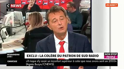 Didier Maïsto, patron de Sud Radio : «Si Mme Vanhoenacker veut faire de la politique, qu'elle retourne en Belgique et qu'elle arrête de cracher sur la France»
