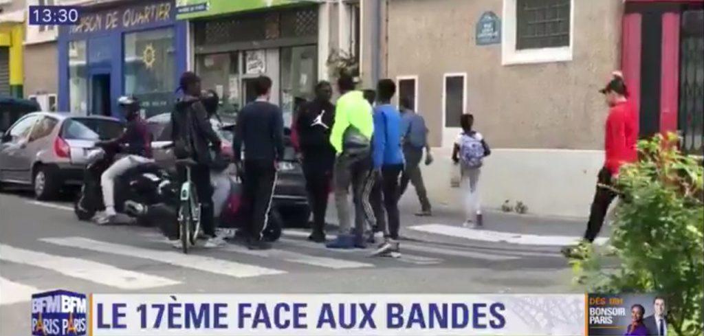 Paris : le 17ème face aux bandes de «jeunes»