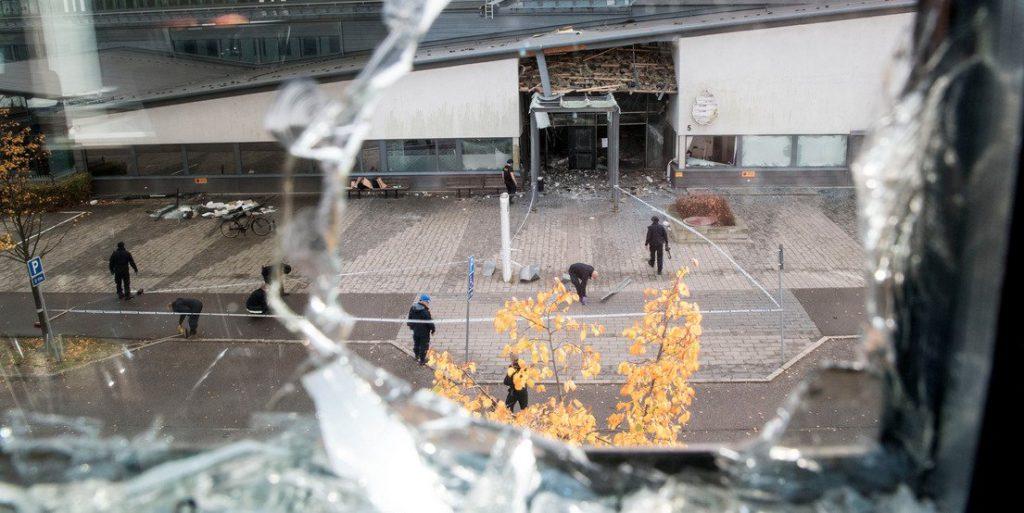 Suède : «L'utilisation d'explosifs est à un niveau unique au monde pour un État qui n'est pas en guerre (…) Une explosion tous les deux jours»
