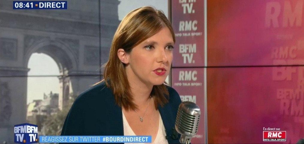 Aurore Bergé, la porte-parole de LREM, ferme la porte à l'idée de quotas pour l'immigration familiale