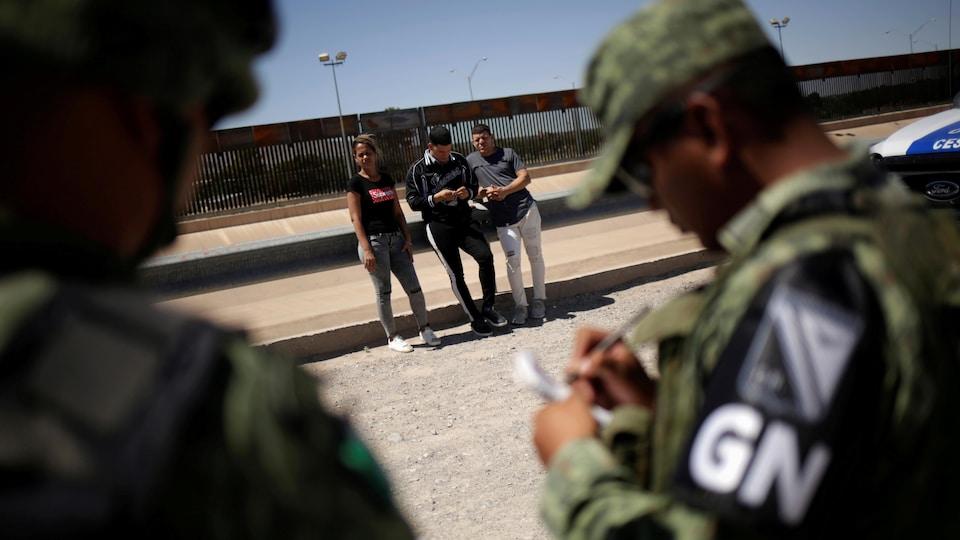 Le Mexique a déployé 15.000 soldats à la frontière avec les États-Unis pour stopper les migrants