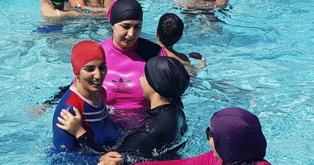 Grenoble : Opération coup de poing de femmes en burkini dans une piscine publique (MàJ)