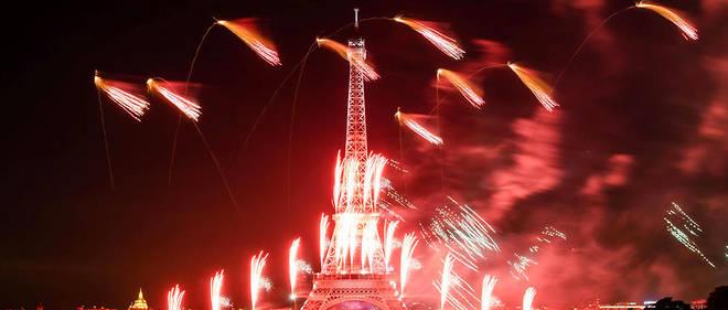 14 Juillet à Paris : un homme est mort après un mouvement de foule durant le feu d'artifice
