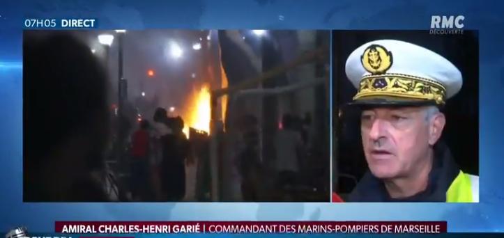 Marseille : débordements après la victoire de l'Algérie, la colère du commandant des marins-pompiers