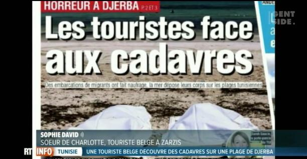 Belgique : « cadavres de migrants et vacances gâchées en Tunisie », un sujet TV provoque un scandale