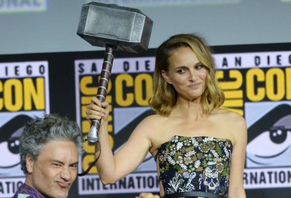 Cinéma : Natalie Portman incarnera le dieu Thor dans le prochain Marvel