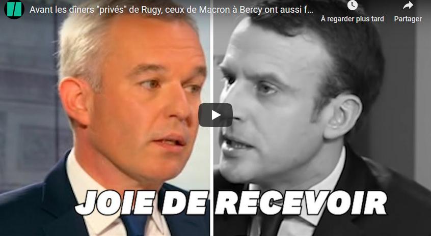 Quand Emmanuel Macron recevait le Tout-Paris à Bercy pour se constituer un carnet d'adresses