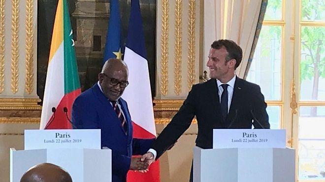 Macron : « 150 millions d'euros seront versés pour une circulation régulière et maîtrisée des personnes entre les Comores et Mayotte »