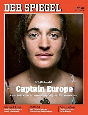 Carola Rackete, la capitaine du Sea-Watch, demande à l'Europe d'accueillir le demi-million de migrants de Libye