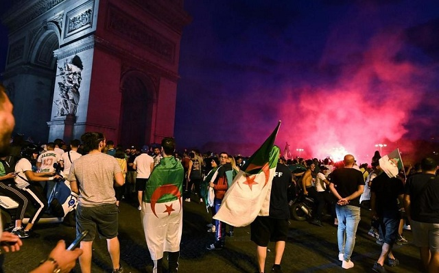 Victoire de l'Algérie à la CAN : 282 interpellations en France