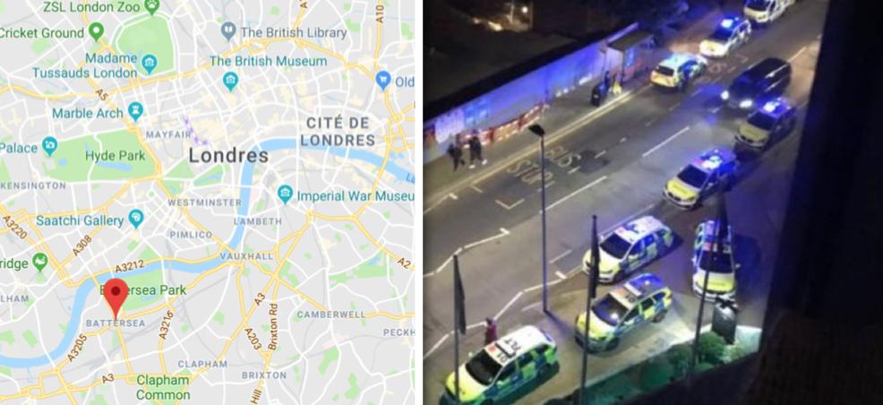Londres : une voiture fonce sur des piétons, 7 blessés, 3 personnes arrêtées pour tentative de meurtre