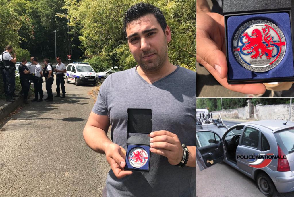 Poitiers : un ressortissant roumain reçoit la médaille de la police pour avoir permis l'arrestation d'un voleur… roumain