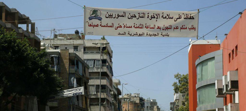 Liban : la colère monte contre les réfugiés syriens