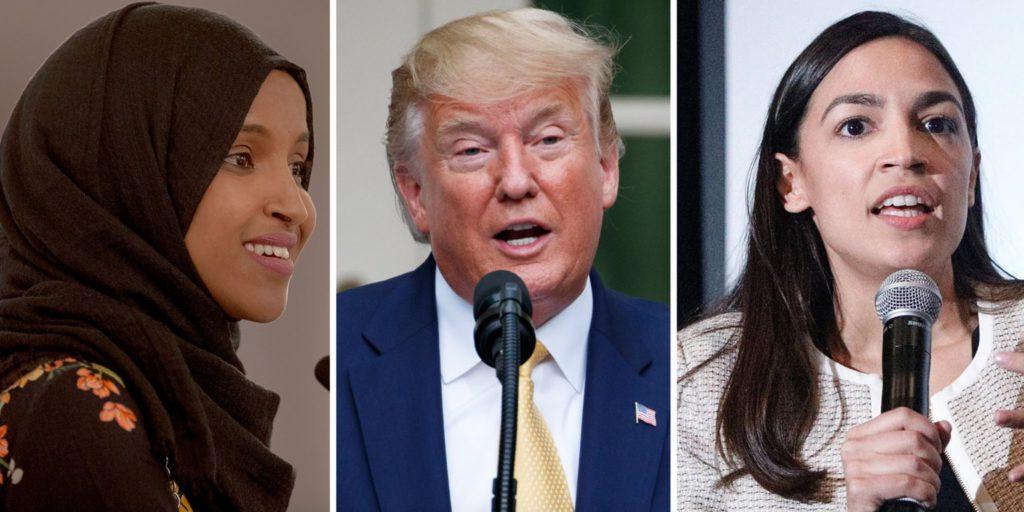 Trump dit à des élues de «retourner» d'où elles viennent, des pays «corrompus et infestés de criminalité», avant de donner des leçons aux États-Unis