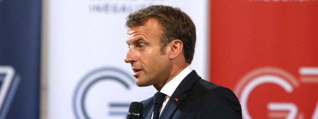 Biarritz/G7. Macron : «Si on écoute les gens qui ne sont pas contents, on ne fait plus jamais rien»