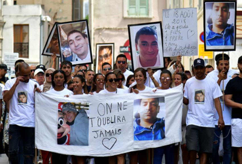 Marseille : marche blanche pour Mickaël, tabassé à mort «par plusieurs individus»
