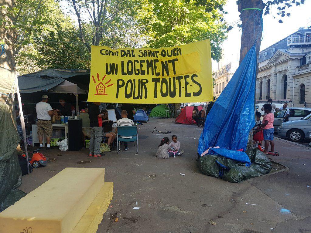Saint-Ouen (93): des migrants latino-américains expulsés d'un «squat de luxe»