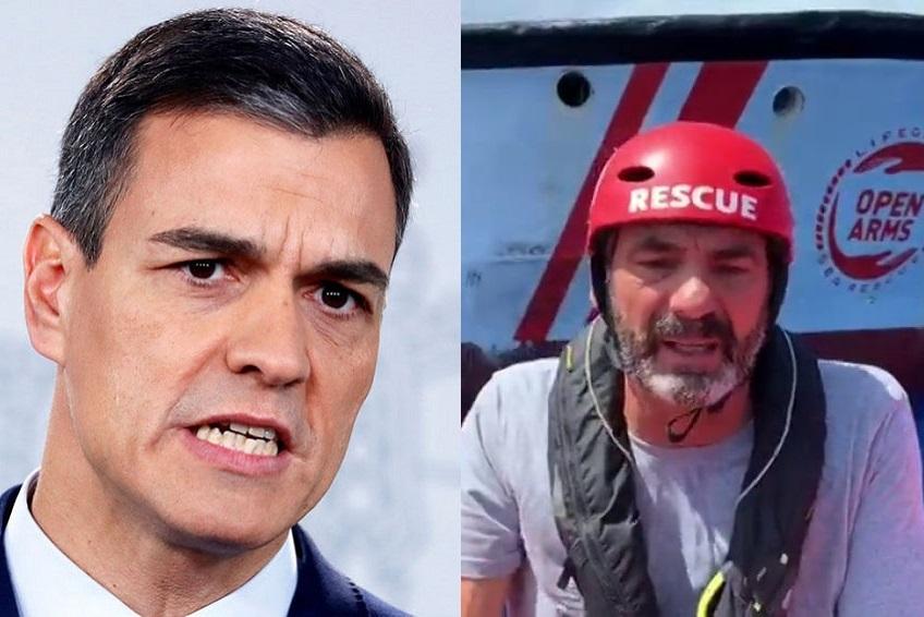 #OpenArms : Madrid fustige Rome et ouvre le port d'Algésiras (MàJ : la France prête à accueillir 40 migrants)