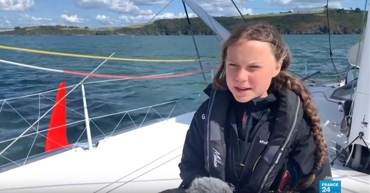 Greta Thunberg : Un simple aller-retour en avion aurait moins pollué «L'équipage prendra l'avion pour retourner en Europe»