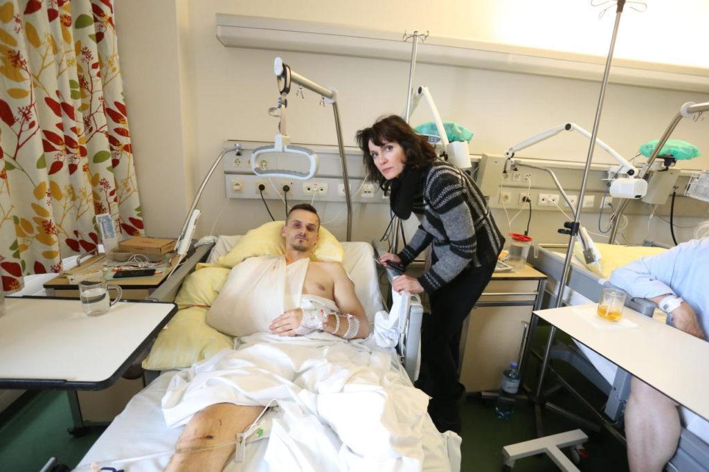 Vienne : Un Irakien pousse un travailleur devant le métro, la victime a dû être amputée d'un pied