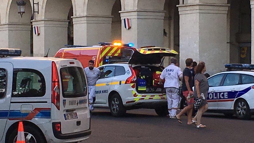 Nîmes : un coup de couteau dans l'enceinte de la gare