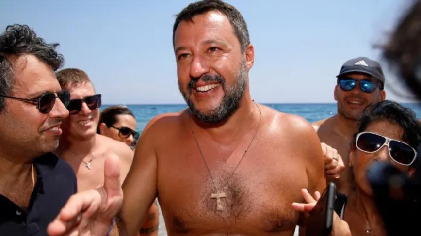 Matteo Salvini, la méthode du capitaine qui rêve de gouverner l'Italie