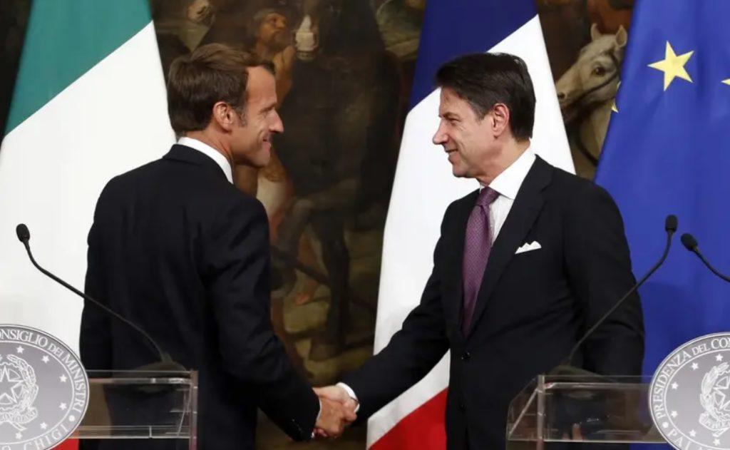 Migrants : Emmanuel Macron et Giuseppe Conte d'accord pour un mécanisme automatique de répartition