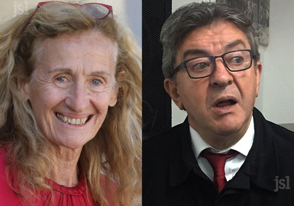 Nicole Belloubet omet de déclarer une maison et deux appartements, Jean-Luc Mélenchon l'accuse de sous-estimer son patrimoine