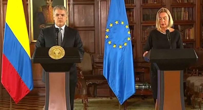 L'Union européenne continue à verser des aides à la Colombie, afin que le pays gère la crise vénézuélienne
