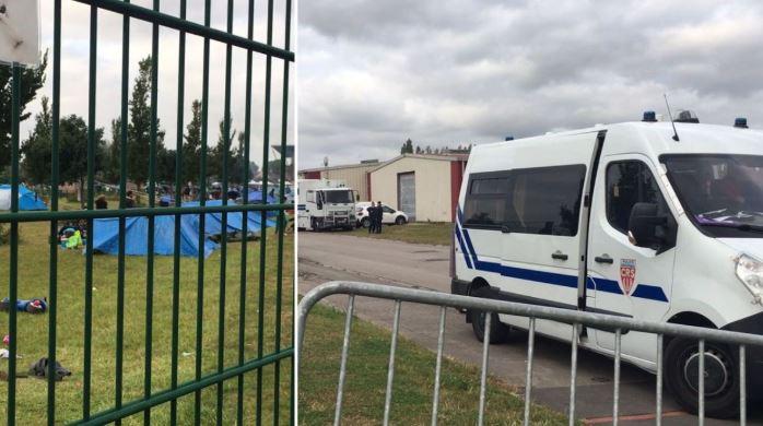 Grande-Synthe (59) : près d'un millier de migrants évacués d'un campement