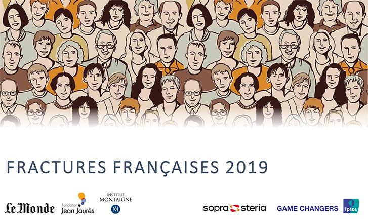Fractures françaises 2019 : la défiance vis-à-vis des dirigeants et des institutions atteint des sommets