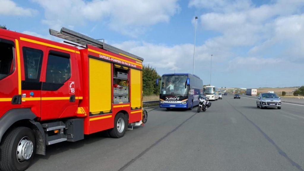Boulogne-sur-Mer (62) : 47 migrants de Grande-Synthe menacent d'incendier leurs bus