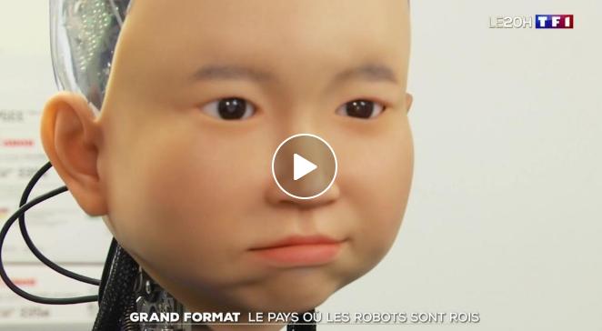 Japon : un travailleur sur neuf est un robot
