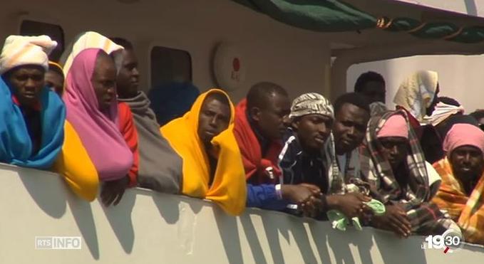Italie : la question des migrants au cœur des discussions avec l'Allemagne