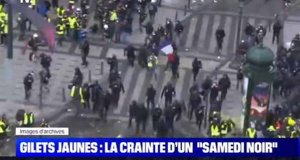 Gilets Jaunes : la crainte d'un «samedi noir»